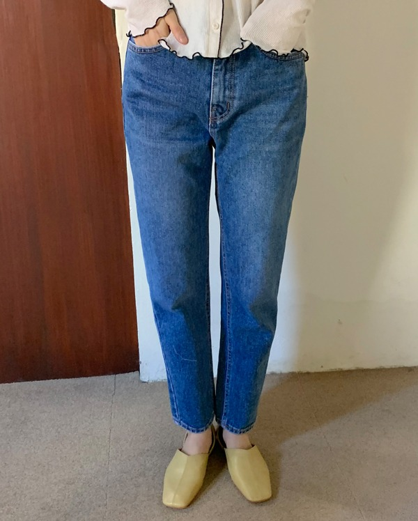 mood slim denim pants (s, m, l)