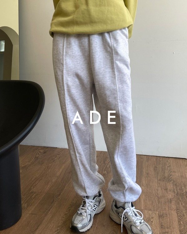 ade stitch jogger pants