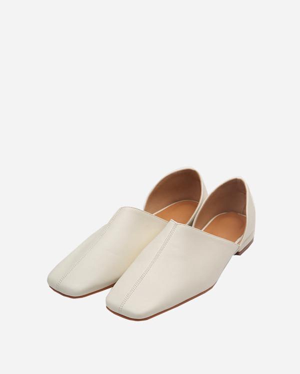mole square line loafer (230-250)