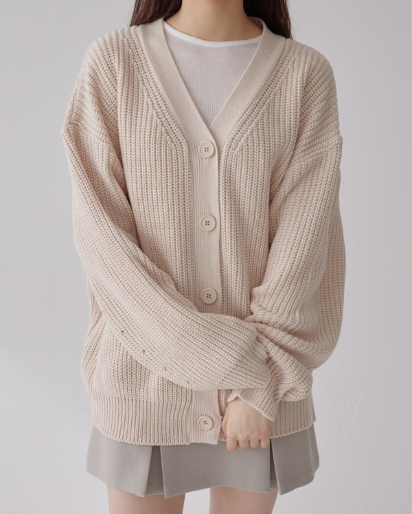 on balloon hazzi cardigan