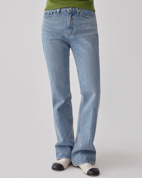 fii boots cut denim pants (s, m)