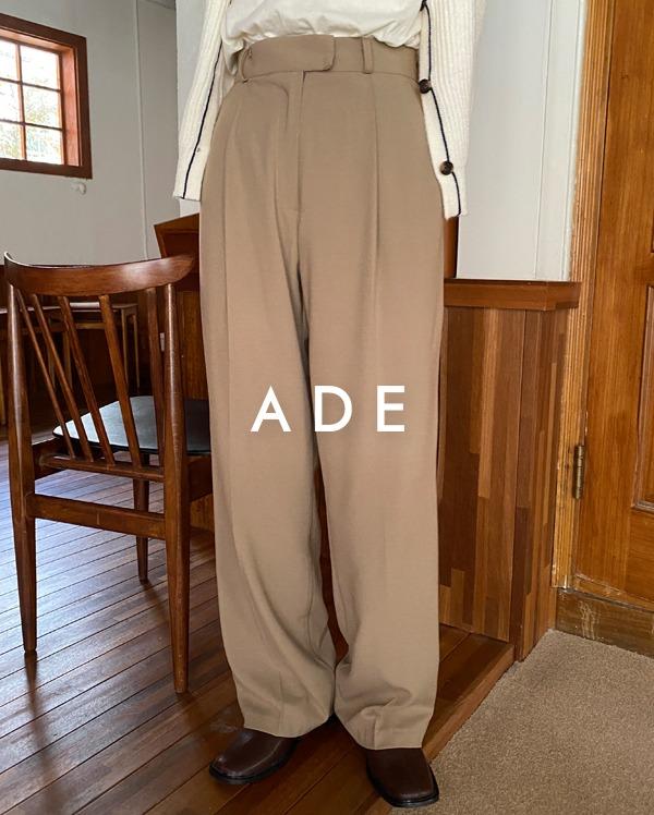 beside buckle slacks (s, m, l)