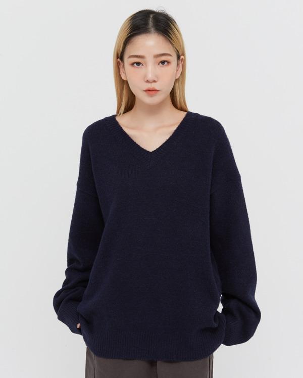 tomi v-neck knit