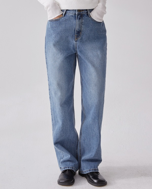 hey washing long denim pants (s, m, l)