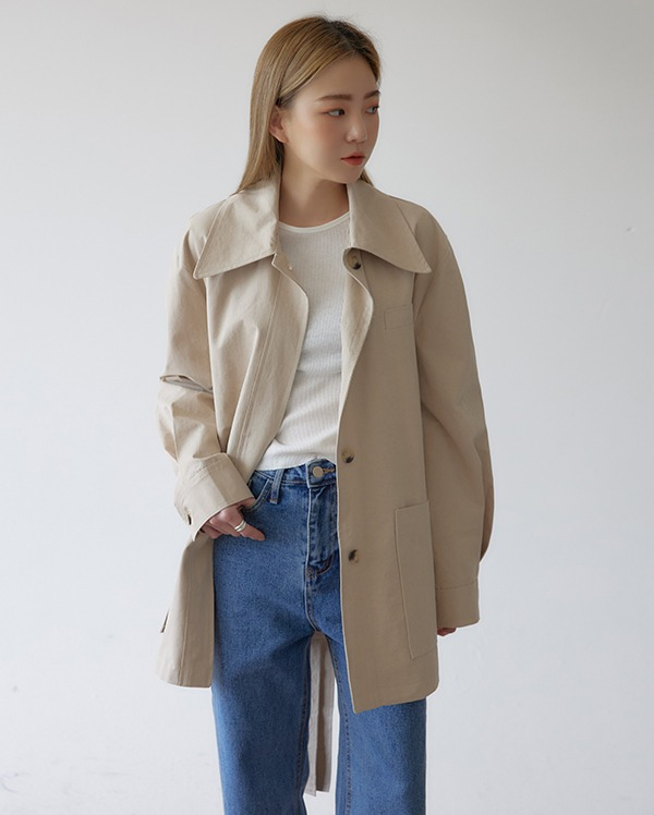 actually cotton half jacket