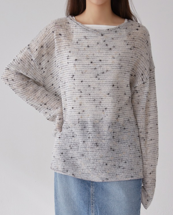 beat layer round knit