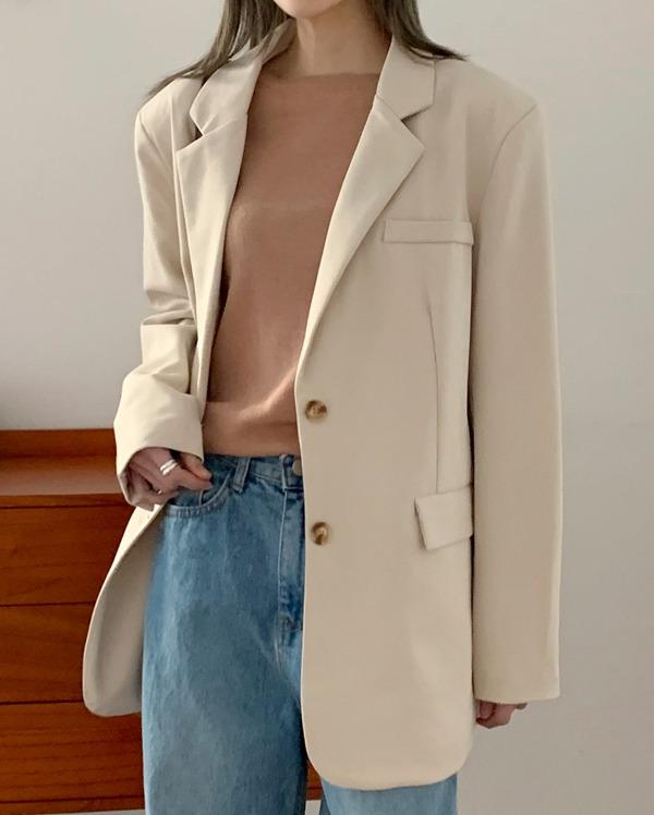 dandy basic button jacket