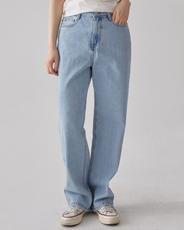 vide light denim pants (s, m, l)