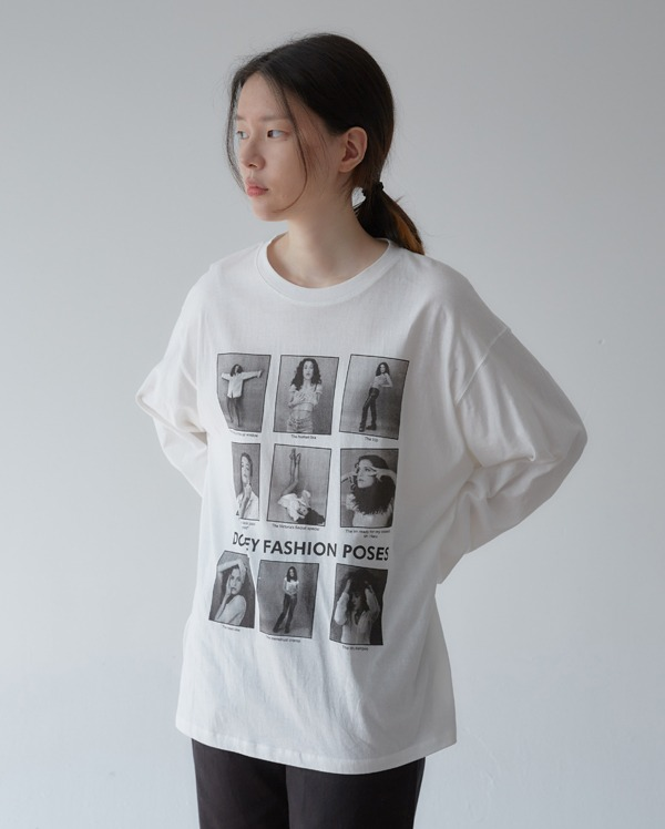 roll casual boxy T