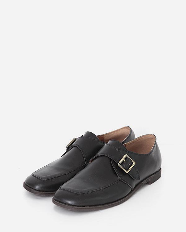 square belt loafer (2 colors)
