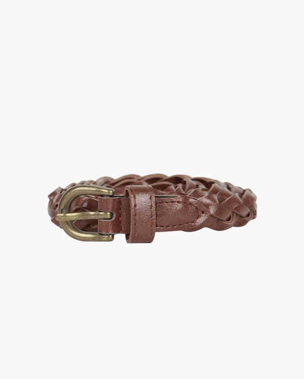 twist antique belt (2 colors)