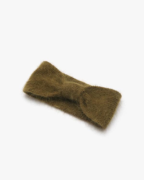 angora hairband