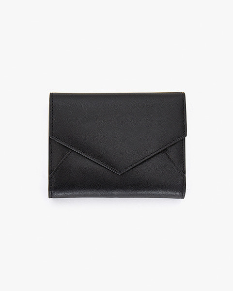 simple leather wallet