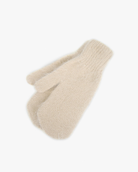 angora cute gloves