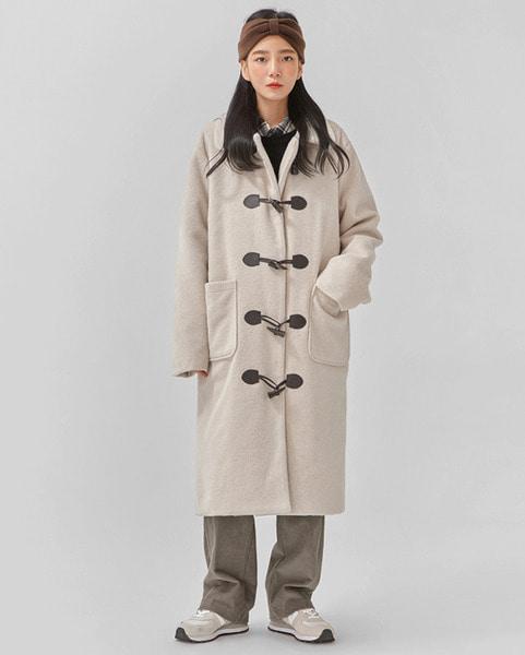 warm cozy napping duffle coat
