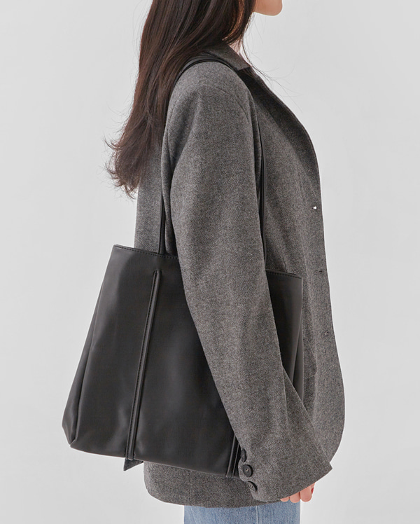 two line square big bag
