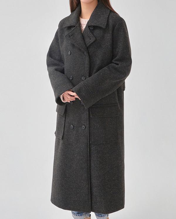 bokashi long double coat