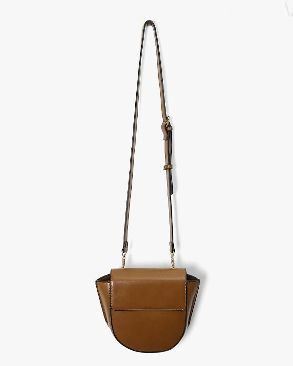 half moon handle bag