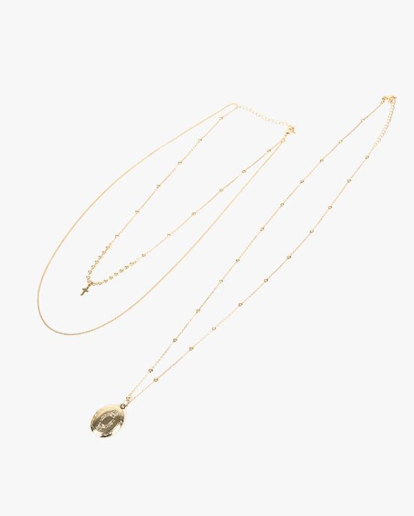 luv pendant necklace set