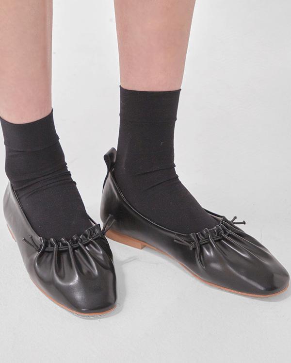 wrinkle flat shoes (225-250)