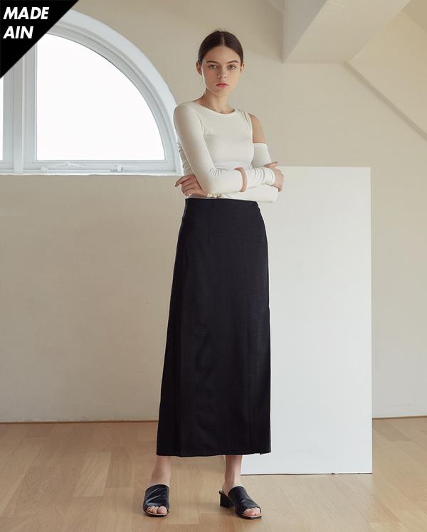 FRESH A long slit skirt (s, m)