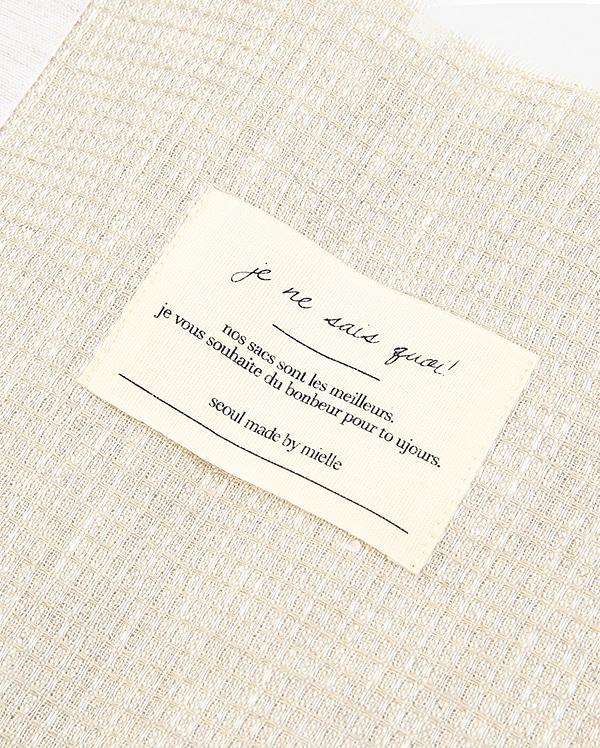 linen natural eco bag