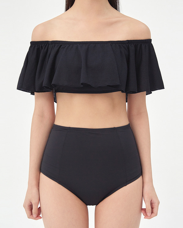 monday off-shoulder frill bikini