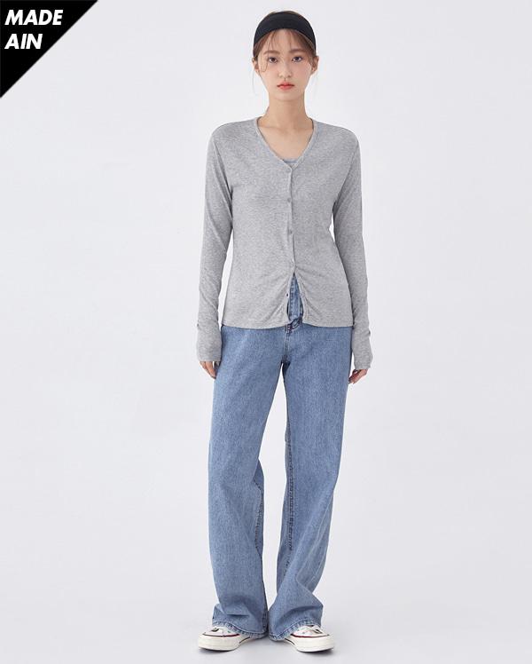 FRESH A soft cardigan set