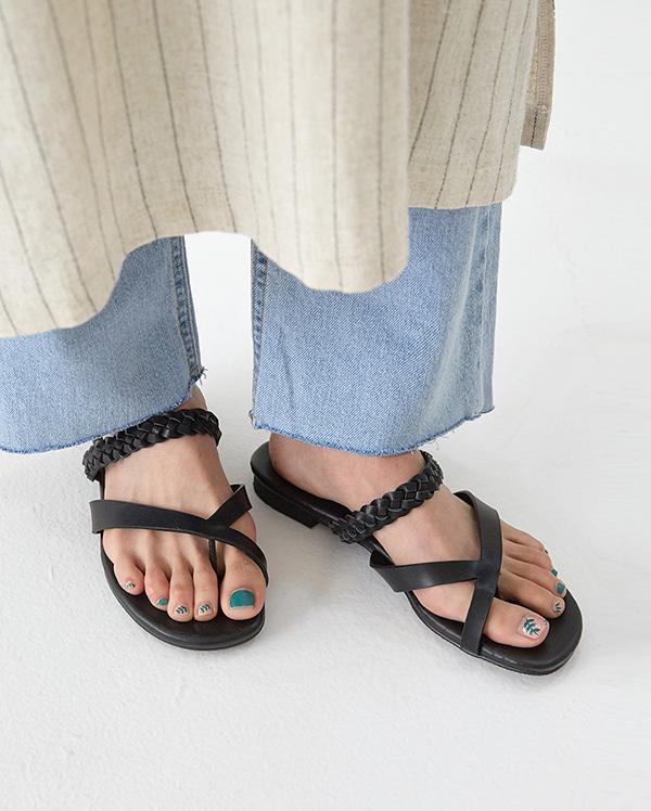 unique daria rope sandal (225-250)