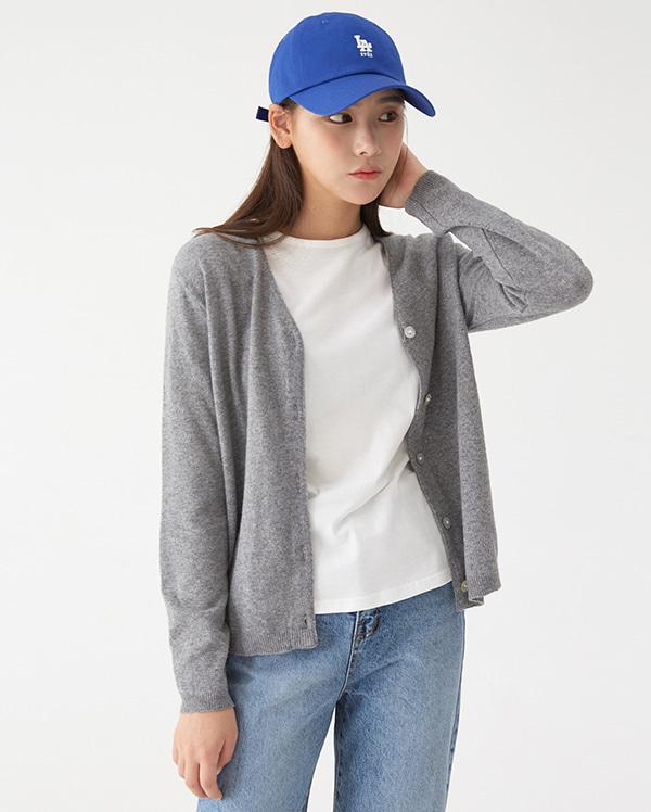 a farrell wool cardigan