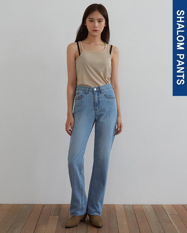101_cutting long denim pants (s, m, l)