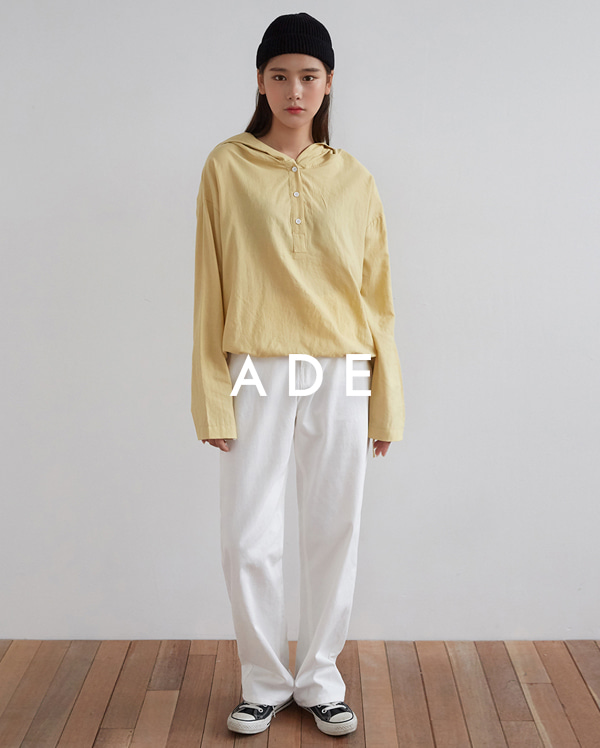 simple hoody blouse