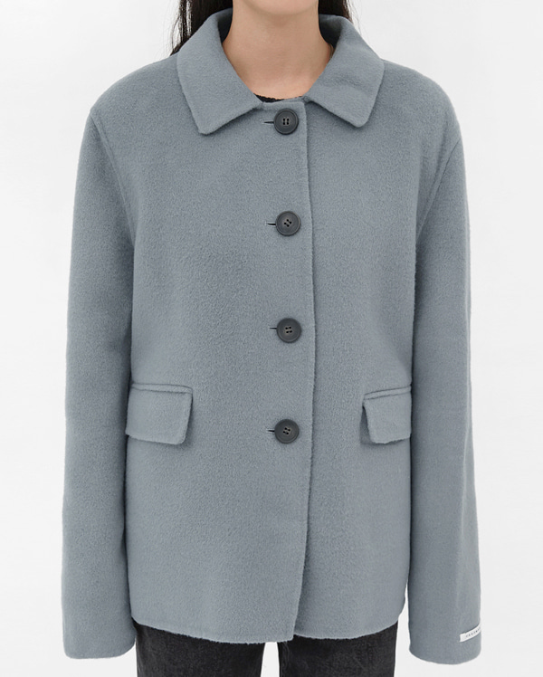 tender wool handmade coat