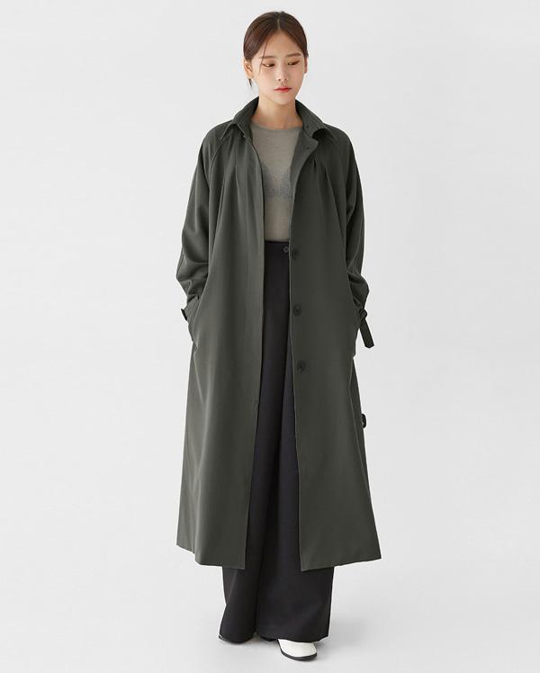 boston single trench coat