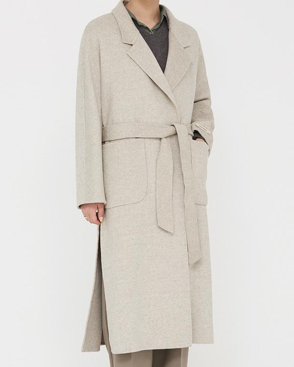 unhidden wool handmade coat