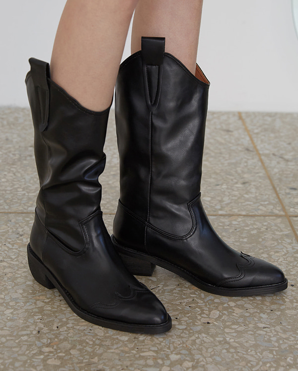 mannish long western boots (230-250)