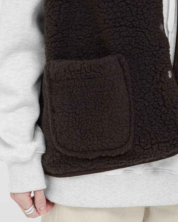 pony warm vest jumper