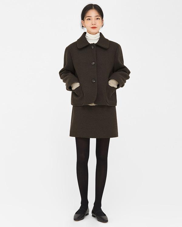 a crema soft short skirts (s, m)