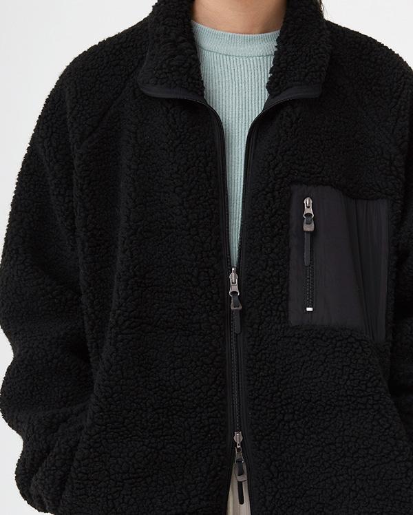 a reversible fleece long jumper