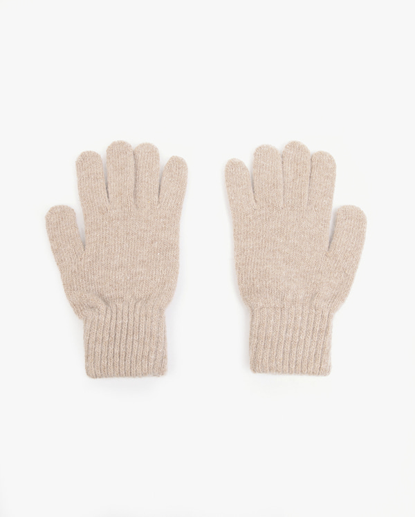 primary simple knit gloves