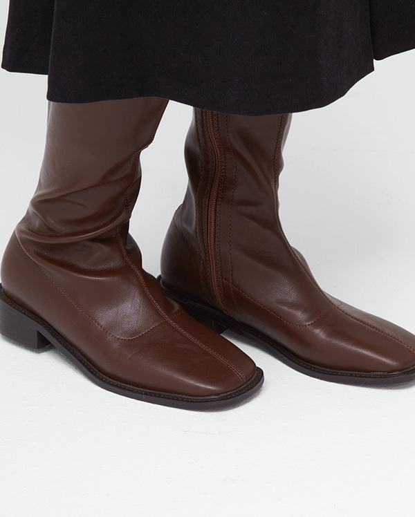 fill mannish long boots (230-250)