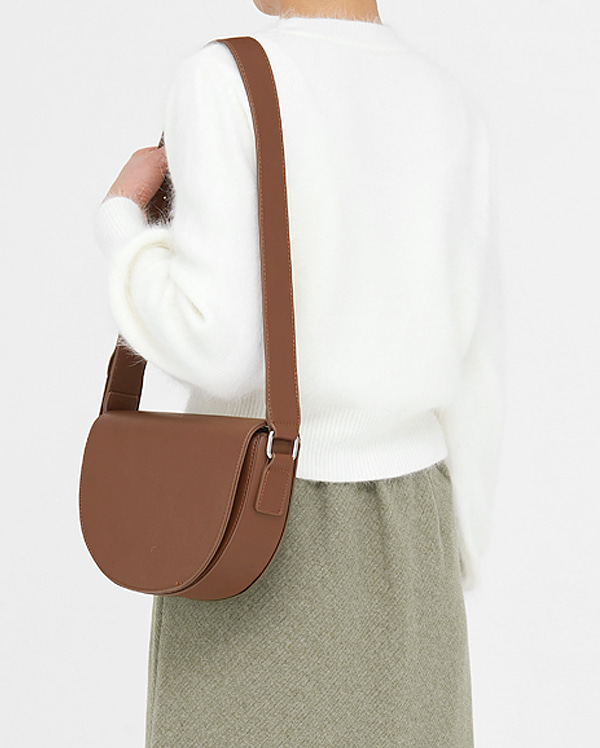 sound soft half moon bag