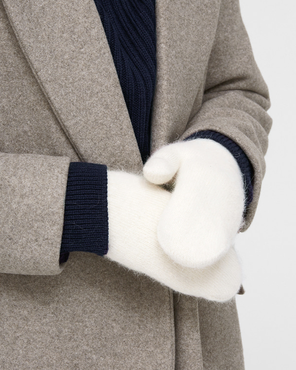 soft angora one gloves