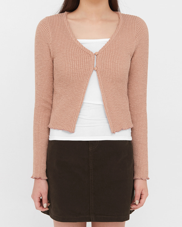 the girlish button cardigan