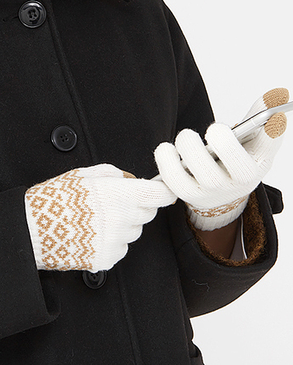 illy wave touch gloves