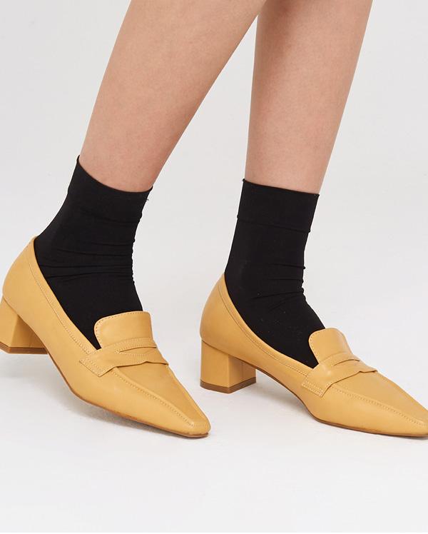 girlish mood heel loafer (225-250)
