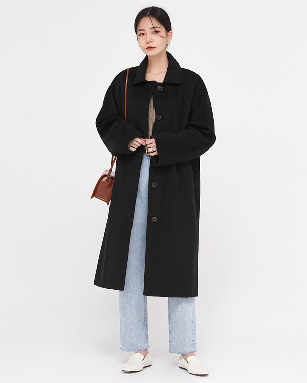 cen wool handmade single coat