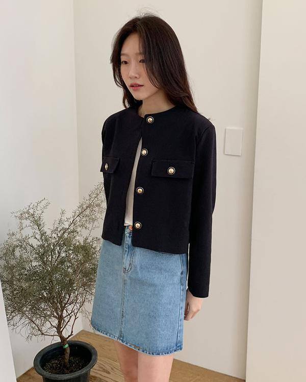 core solid short jacket