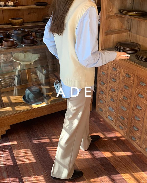 FRESH A 155cm formal slacks (s, m, l)