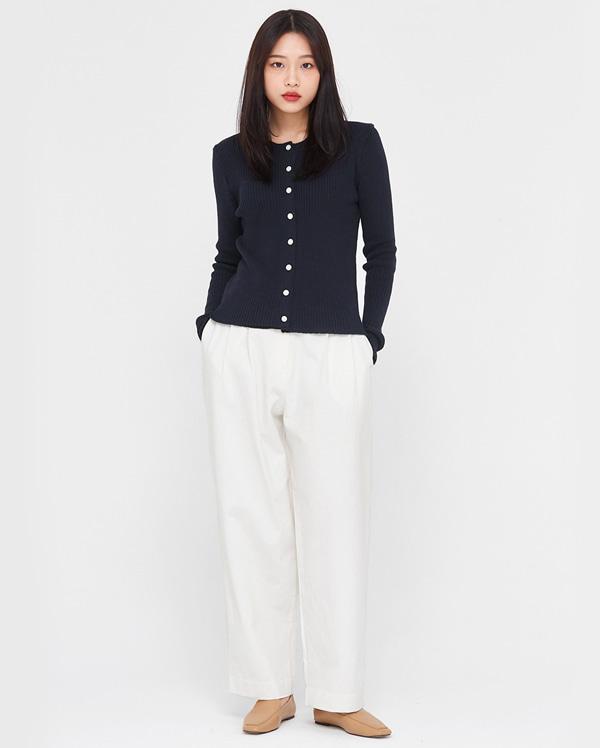 beni wide cotton pants (s, m)